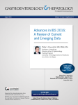 Advances in IBS 2016
